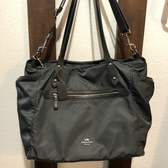 Coach Handbags - Coach Diaper Bag & changing pad